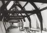 Rue du Midi 144. Académie Royale des Beaux-Arts, intérieur cloître, combles, 1985