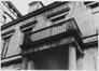rue Saint-Ghislain 19-23. Caisse publique de Crédit, anc. Mont de Piété. Villa Mosselman, balcon., [s.d.]