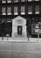 avenue de Stalingrad 30-36, ancienne église Saint-François-Xavier, détail portail, angle rue Roger van der Weyden, 1985