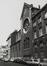 avenue de Stalingrad 30-36, ancienne église Saint-François-Xavier, façade latérale rue Roger van der Weyden, 1980