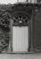 rue des Tanneurs 59, ancien Refuge de l'abbaye bénédictine de Gembloux, façade arrière du n° 59., 1980