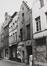 rue de la Violette 18. Ensemble de maisons traditionnelles, entrée de la petite rue de la Violette., 1980