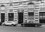 rue Antoine Dansaert 85-101, détail rez, 1978
