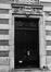 rue Antoine Dansaert 85-101, détail porte, 1978