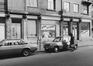 rue Antoine Dansaert 129-135, détail rez., 1978