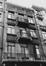 rue Antoine Dansaert 182-184, détail étage., 1979
