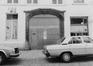 Borgval 18, détail porche., 1979