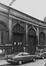 rue Pletinckx 29-33. Ancienne Gare de marchandises Bruxelles-Chartreux des Chemins de Fer de l'État. Façade rue des Chartreux 70, 1979