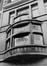 quai du Commerce 28-30, détail bow-window, 1978