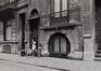 Rue Froebel 5, détail rez, 1979