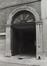 Rue du Houblon 63, détail porche, 1979