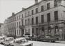 rue de l'Infirmerie, n° pairs. Immeubles quartier du Béguinage, 1978