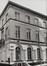rue de l'Infirmerie 7, angle rue du Grand Hospice. Immeubles quartier du Béguinage, 1978