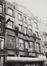 Anspachlaan 85. Voormalige bioscoop Pathé-Palace, achtergevel Jules Van Praetstraat 26-28, 1986