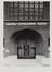 Léon Lepagestraat 33-35. Gereformeerde Kerk, detail ingang, [s.d.]
