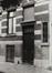 rue Locquenghien 59 à 65, détail porte n° 61 ; angle boulevard de Nieuport, 1978