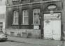 quai aux Pierres de Taille 21. Maison traditionnelle, détail rez, 1978