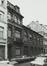 rue Pletinckx 29-33 et rue des Chartreux 70. Ancienne Gare de Marchandises Bruxelles-Chartreux des Chemins de Fer de l'État, habitation et bureaux, 1979