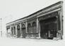 rue Pletinckx 29-33 et rue des Chartreux 70. Ancienne Gare de Marchandises Bruxelles-Chartreux des Chemins de Fer de l'État, hangars, [s.d.]