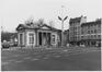 Porte d' Anderlecht, anciens pavillons d'octroi, pavillon nord., 1983