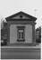 Porte d' Anderlecht, anciens pavillons d'octroi, pavillon nord, façade ouest., 1983