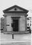 Porte d' Anderlecht, anciens pavillons d'octroi, pavillon nord, façade est., 1983