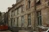 rue des Riches Claires 23. Ancien Couvent des Riches Claires, aile S. du cloître, façade nord, 1986