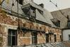 rue des Riches Claires 23. Ancien Couvent des Riches Claires, rue Saint-Christophe 32-34, toitures façades arrières, 1986