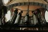 rue des Riches Claires 23. Église paroissiale Notre-Dame aux Riches Claires, intérieur, orgues, 1986