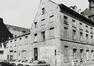 rue des Riches Claires 23, angle rue Saint-Christophe. Ancien Couvent des Riches Claires, aile S. du cloître, 1979