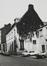 rue des Riches Claires 23. Ancien Couvent des Riches Claires, ailes O. et N. du cloître, rue Saint-Christophe 32-34, pignon latéral, 1979