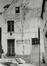 rue des Riches Claires 23. Ancien Couvent des Riches Claires, ailes O. et N. du cloître, rue Saint-Christophe 32-34, pignon latéral, 1981