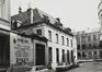 rue des Riches Claires 23. Ancien Couvent des Riches Claires, ailes O. et N. du cloître, rue Saint-Christophe 32-34, 1979