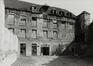 rue des Riches Claires 23. Ancien Couvent des Riches Claires. Brasserie et boulangerie, avant transformation du bâtiment, 1981