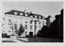 rue des Riches Claires 23. Ancien Couvent des Riches Claires. Brasserie et boulangerie, après transformation du bâtiment, [s.d.]