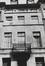 rue Saint-Christophe 28, détail étages., 1979
