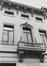 Rue de la Senne 75, détail étages, 1979