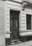 Rue de la Senne 75, détail porte, 1979