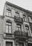 Rue du Vautour 74, détail étages, 1979