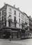 Zwarte Lievevrouwstraat 18, gevel Melsensstraat, 1978