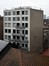 Place de l'Yser 9-11, façade arrière© ARCHistory / APEB, 2017