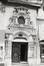 Boulevard Adolphe Max 55. Sacristie de l'église Notre-Dame du Finistèredétail porte, [s.d.]