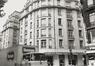 Adolphe Maxlaan 118-126, hoek Mechelsestraat 31-33. Voormalige cinema Plaza, 1983