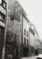 Adolphe Maxlaan 118-126. Voormalige cinema Plaza, achtergevels van het complex, Sint-Pietersstraat, 1982