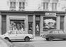 rue de la Croix de Fer 24 à 38, détail rez n° 34-36, 1981