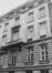rue de Louvain 38. Anciens bureaux de la Directions Générale des Ponts et Chaussées et des Mines, façade arrière rue de la Croix de Fer 39., 1981