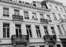 rue des Cultes 15 et 17, détail étage., 1985