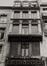 rue de l'Écuyer 36, détail étages., 1980