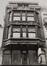 rue de l'Écuyer 47-47A. Immeuble de rapport Art nouveau, détail étages., 1980