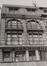 rue de l'Écuyer 61-65, détail étages, 1980